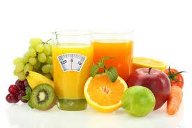 Fruits et balance